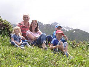 In de bergen van Talgar