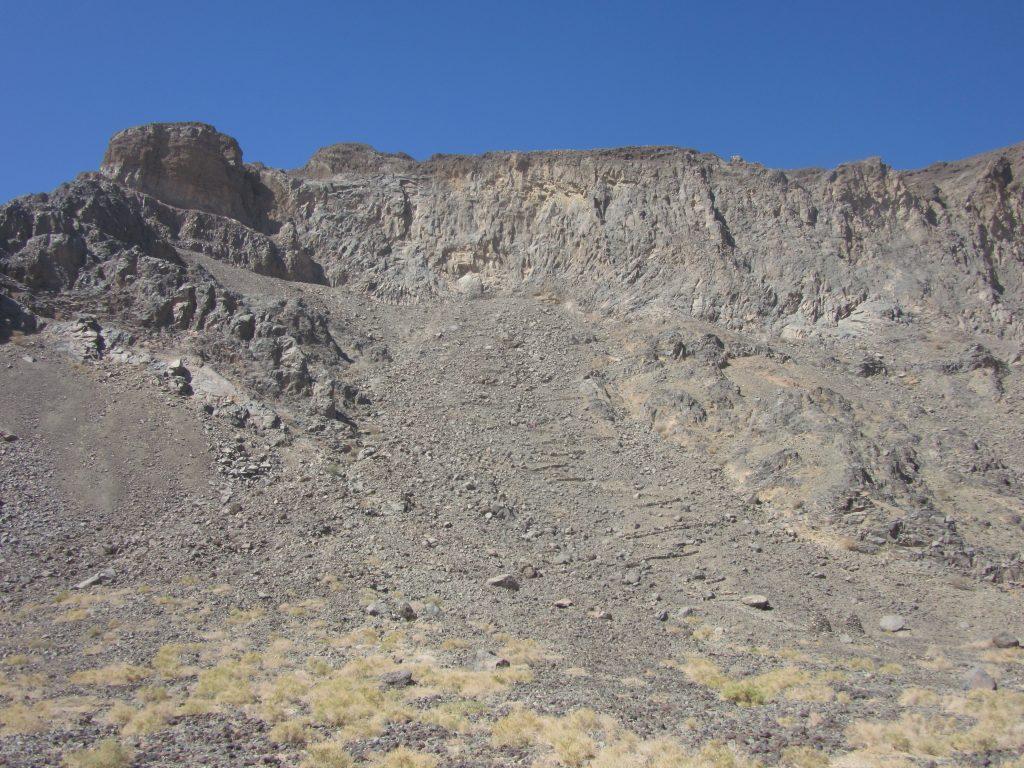 Pad in Al-Wahbah krater