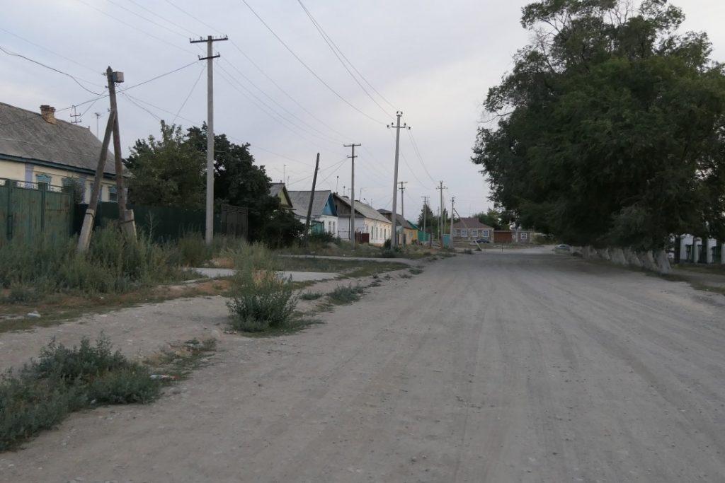 Onverharde straten in Karakol