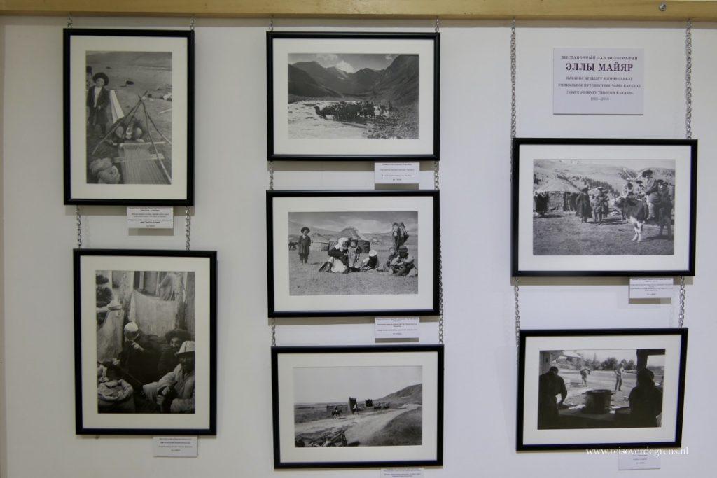 Ella Maillart fotocollectie Historisch museum Karakol