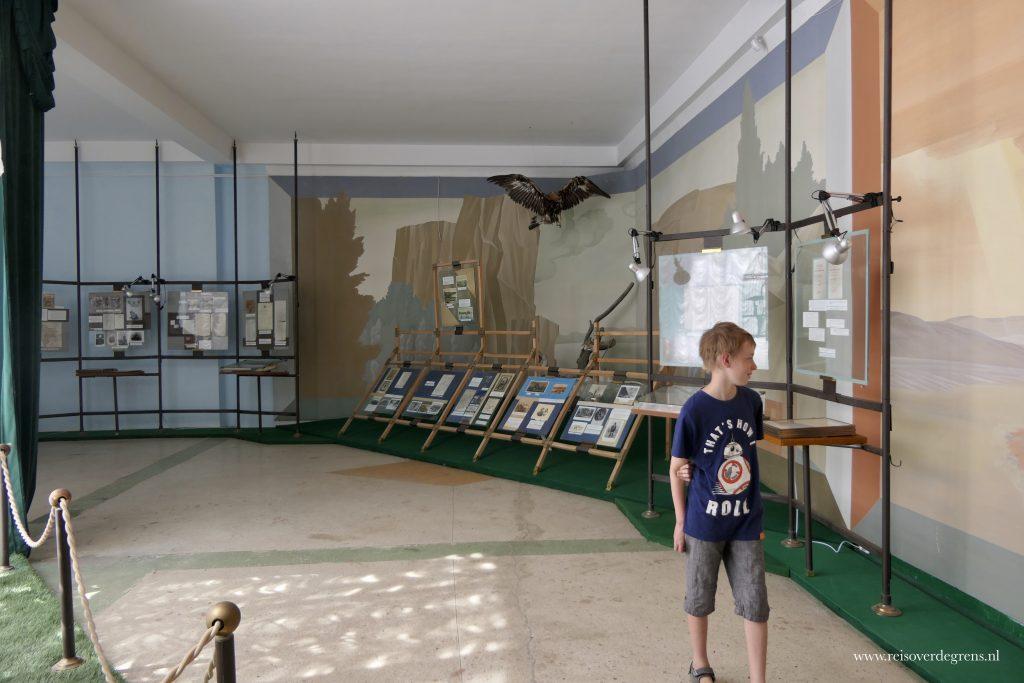 Rondleiding door het Przjevalskimuseum in Karakol