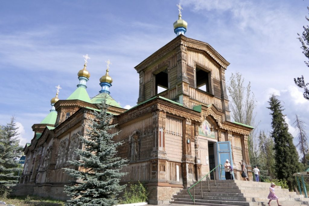 Russisch orthodoxe kerk in Karakol