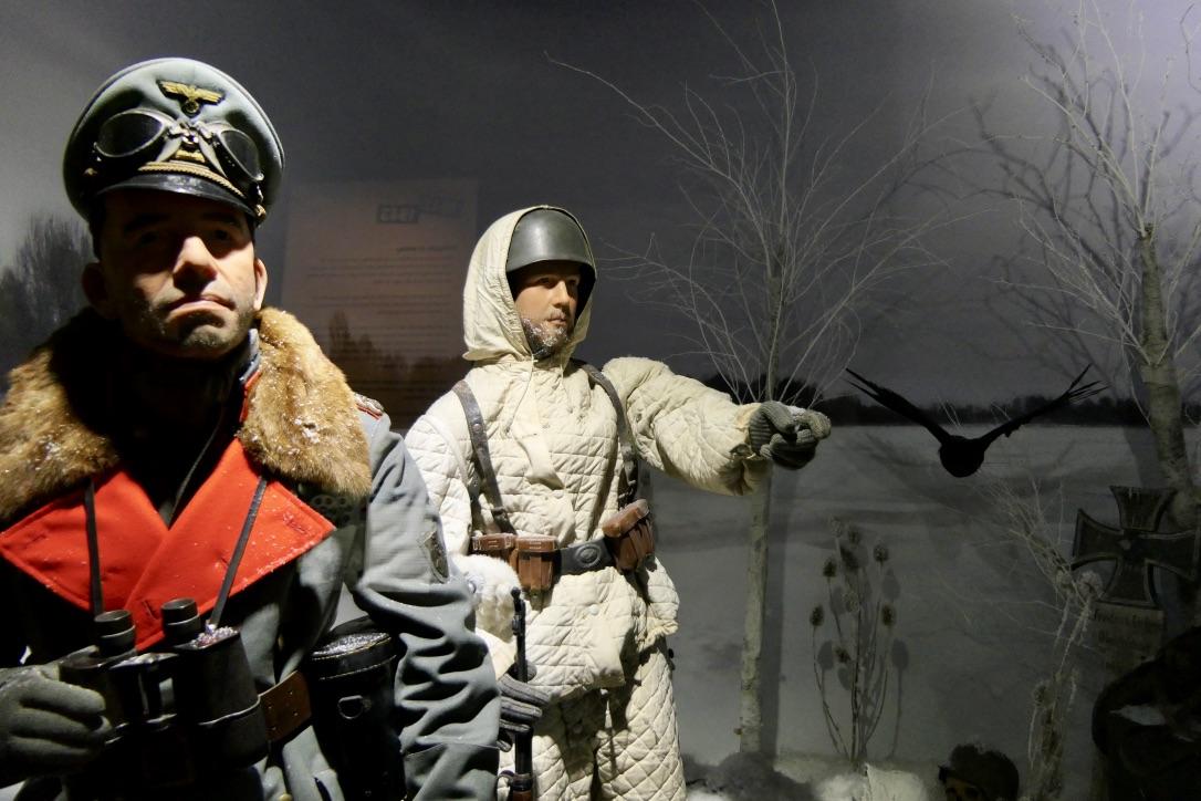 Eyewitness museum diorama
