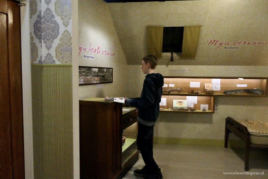Huisje in het Verzetsmuseum Junior
