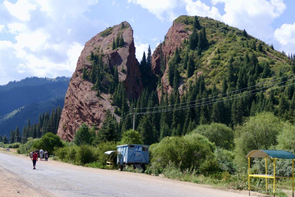 Gebroken Hart rots Jeti Oguz Kirgizië